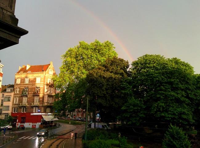Bruxelles rainbow